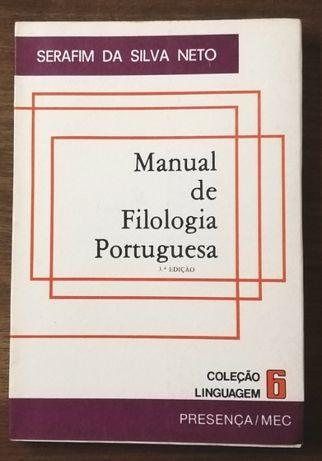 manual de filologia portuguesa, serafim da silva neto, presença