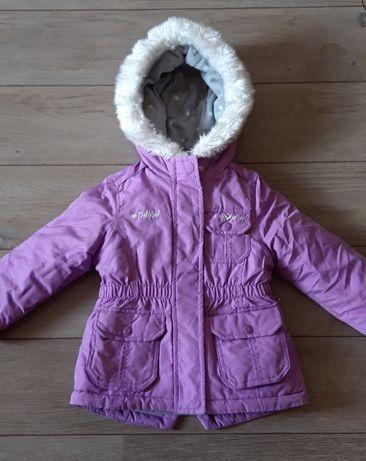Зимняя двойная куртка 2-3 года для девочки OshKosh
