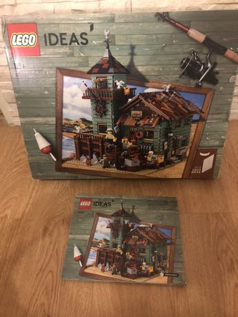 Lego 21310 unikat stary sklep wedkarski