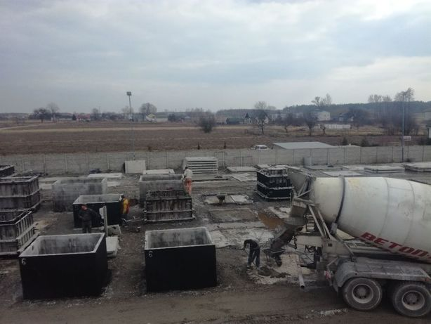 Zbiornik betonowy na gnojowicę gnojówkę szamba 8m3 betonowe szambo