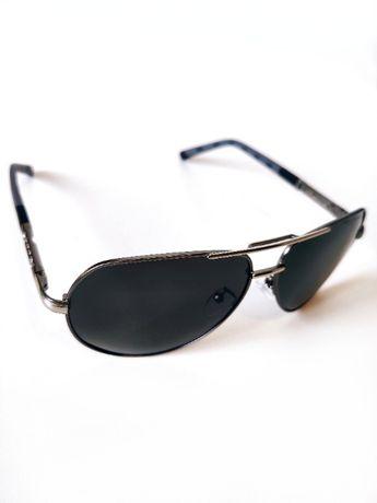 Czarne okulary przeciwsłoneczne KINGSEVEN stylowe Polaryzacja UV400!