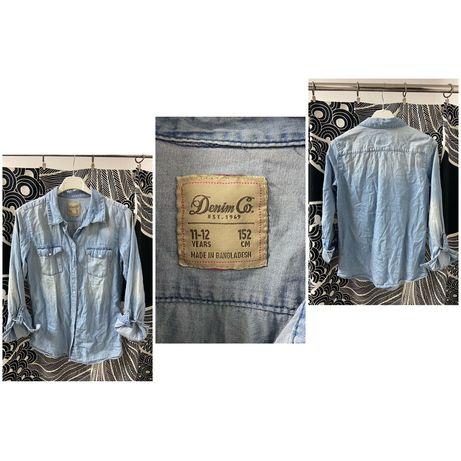 Koszula Jeansowa Denim Co 152cm