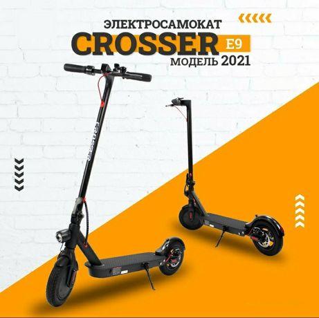 Электросамокат Crosser Т4, М5 и E9 8,5 и 10'' Premium 1000 Вт 12,5 mAh
