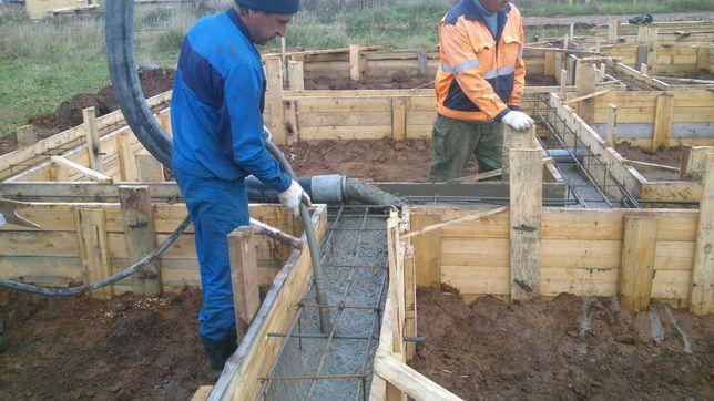 Бетон М250, раствор, сухой бетон (гарцовка) и бетононасос , до -30%