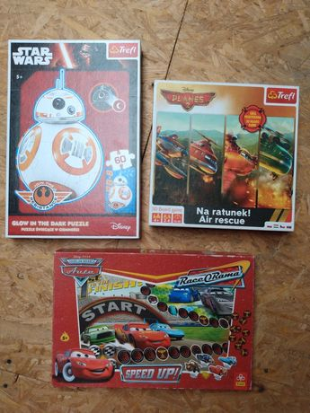 Gry puzzle Star Wars Planes Cars