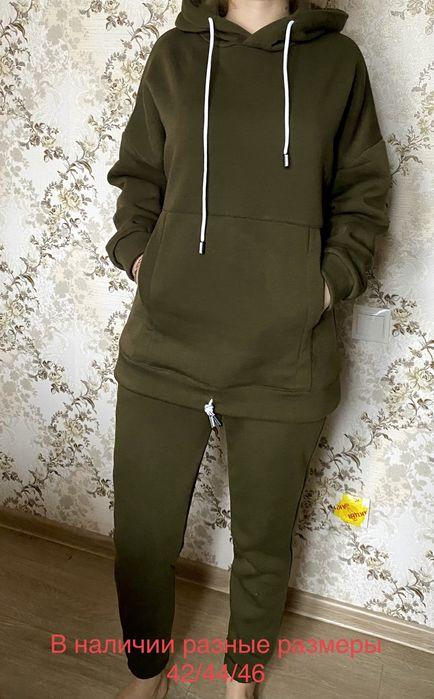 Теплый спортивный костюм на флисе оверсайз Чернигов - изображение 1