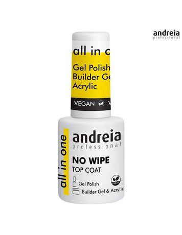All in One No Wipe Top Coat Andreia 10.5ml