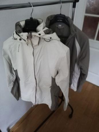 kurtka damska sportowa całoroczna 2w1 - hydro + ciepła Quechua L