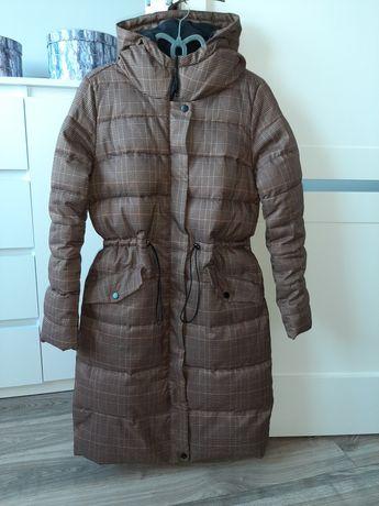 Płaszcz zimowy pikowany Cropp s nowa