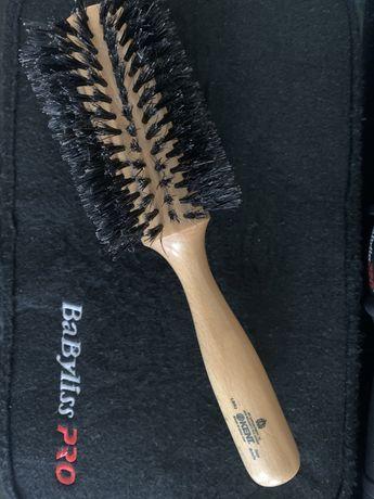 Расчёска браш для укладки волос Kent, Англия.