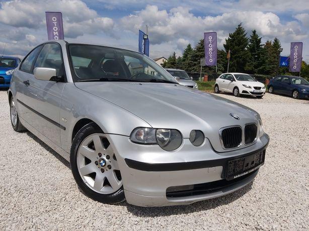 Bmw e46 Compact!!! 2003 Rok!!! Klima!! !Benzyna!!!