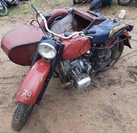 nr.79 DNIEPR MT10 1976rok z wózkiem bocznym możliwa WYSYŁKA