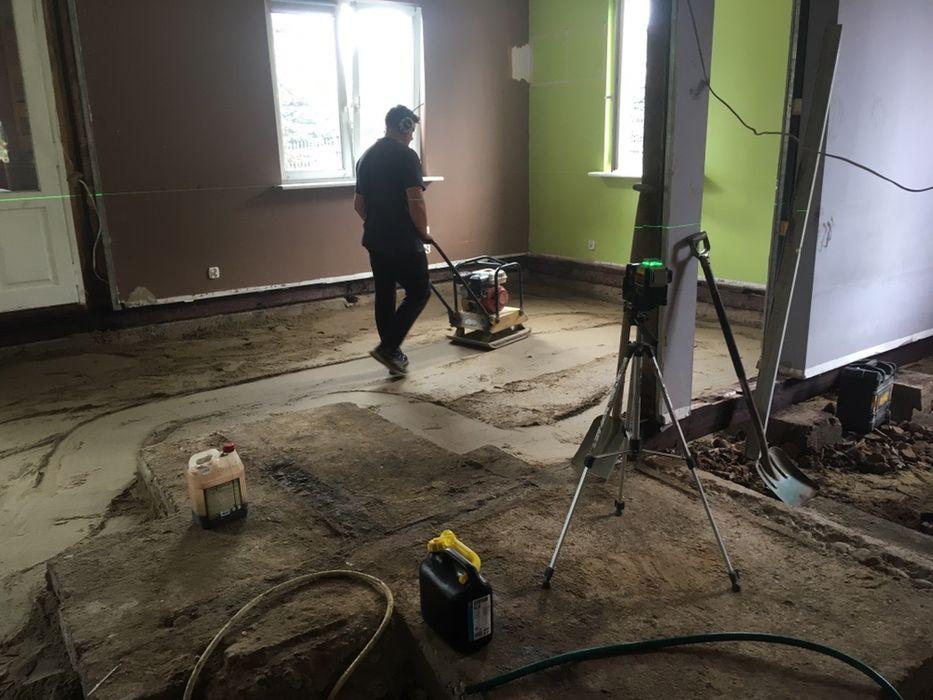 Chudy beton, podlewka, posadzki w drewnianych domach i nie tylko Białystok - image 1