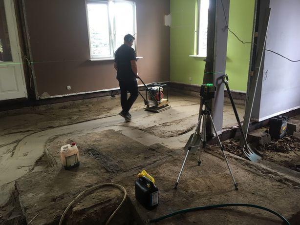 Chudy beton, podlewka, posadzki w drewnianych domach i nie tylko