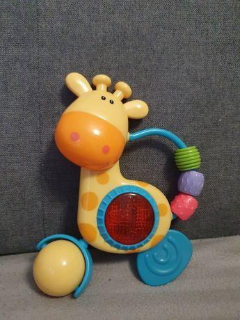 Grająca i świecąca żyrafa