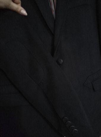 Пиджак мужской тёмно синий