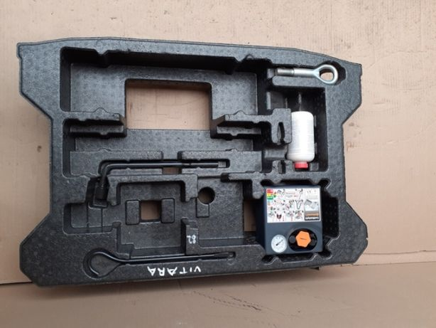 Zestaw naprawczy nr 82 Suzuki Vitara III kompresor +płyn+styropian