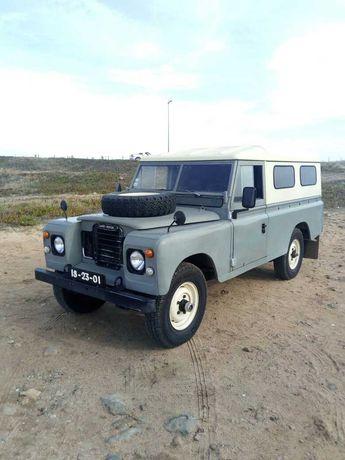 Land Rover Serie 3 109 Camper Van