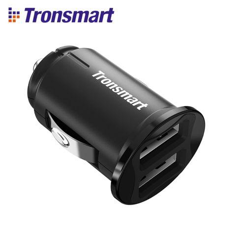 Автомобильное зарядное устройство Tronsmart C24 Dual USB Port