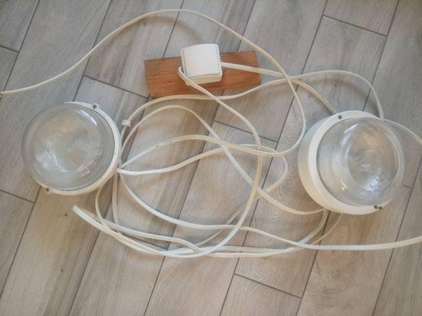 Oświetlenie garażu - lampy sufitowe/ścienne; oprawy okrągłe