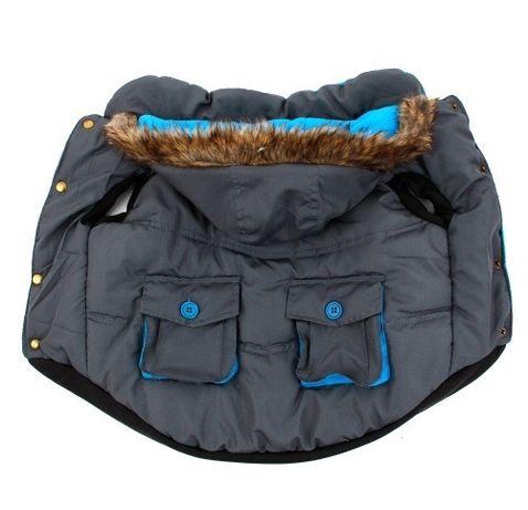 Тёплая куртка для маленьких собак