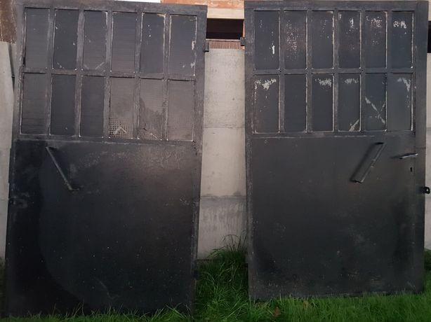 Brama  garazowa dwuskrzydłowa, rama