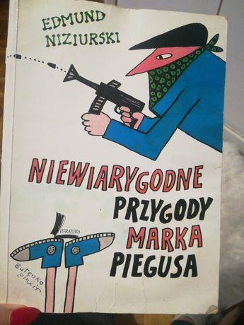 Niewiarygodne przygody Marka Piegusa  książka dla dzieci