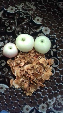 Домашние Сушеные яблоки.