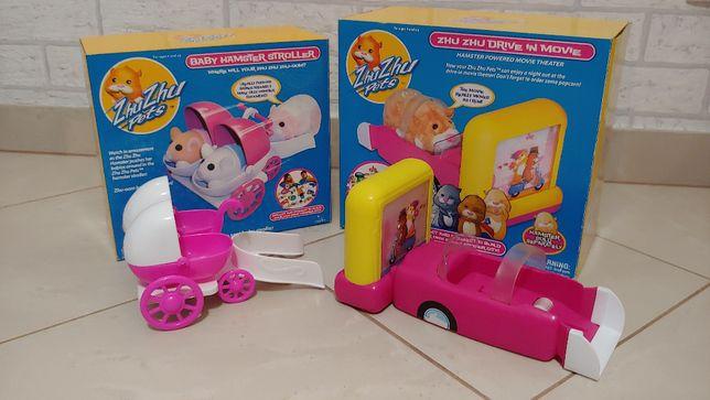 Zhu Zhu Pets samochody dla dziewczynki 2 szt.