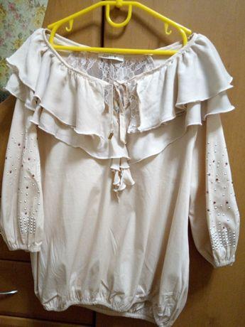 Блуза женская,размер 42-46.