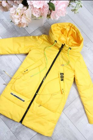 Пальто Турция 134, 140, 146, 158, 164 весна деми куртка парка плащ