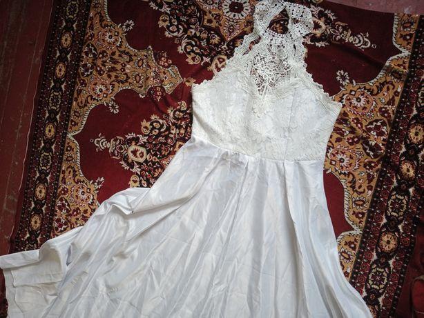 Обворожительное свадебное бальное выпускное платье