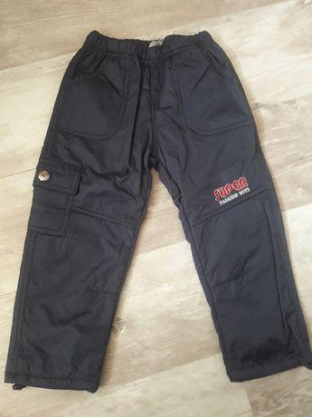 Утеплённые штаны для мальчика