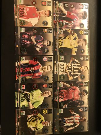 10 kart limited edition Champions league 2014/2015