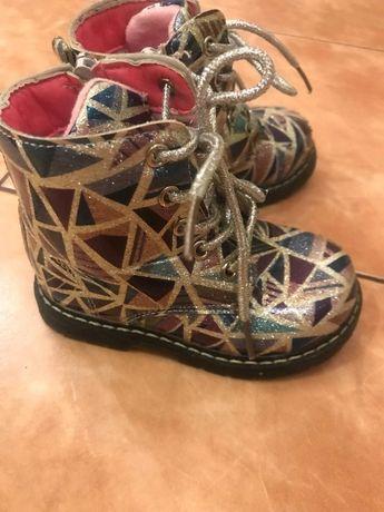 Сапожки ботинки на байке 22р