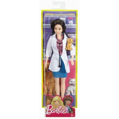 Барби Barbie Pet Vet Career Doll With Puppy Patient