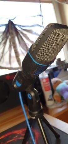 Mikrofon komputerowy. B.dobra jakość dźwięku. Trzy razy użyty! -55%