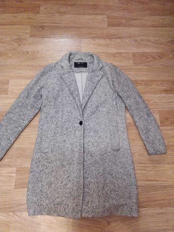 Пальто серое, XS