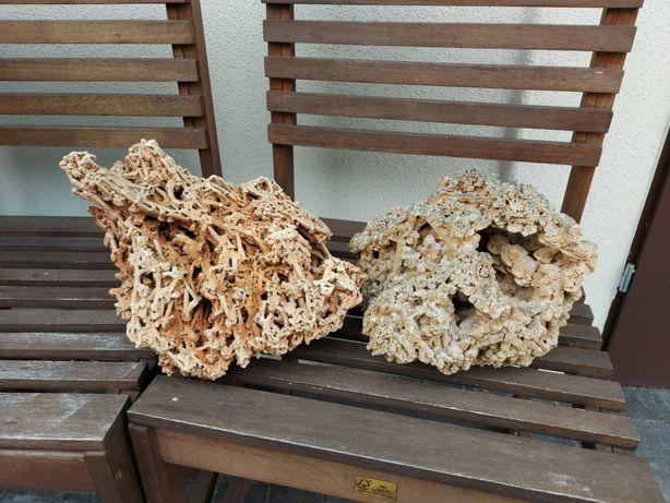 Kamienie do akwarium Wapień Czerwony (spaghetti)