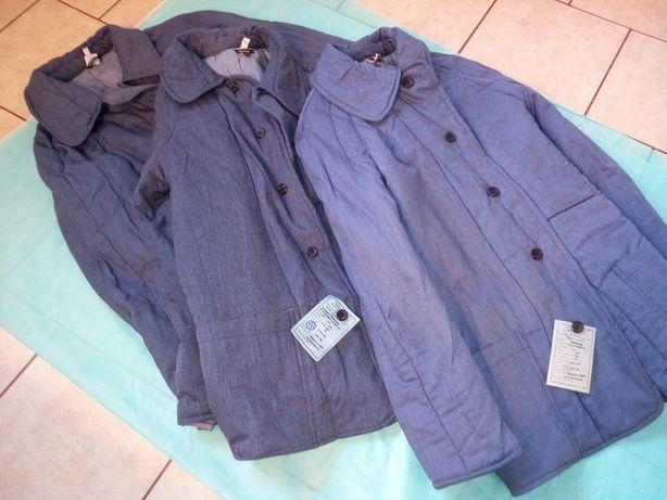 Sprzedam stare ocieplane ubrania robocze typu kufajka.