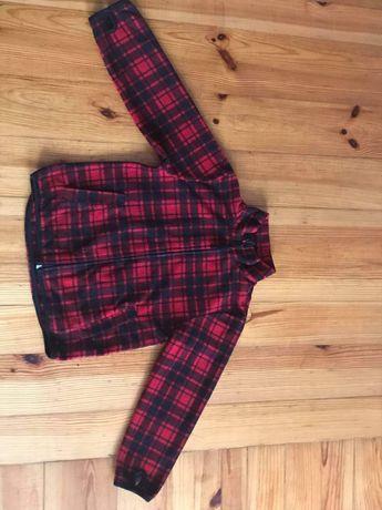H&m bluza w kratę 110/116