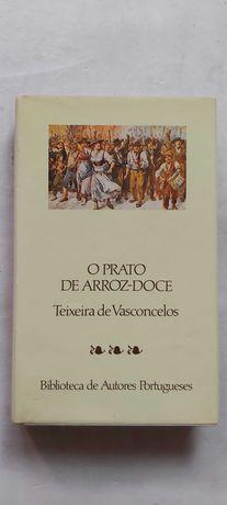 Livro: O prato de arroz-doce - Teixeira de Vasconcelos