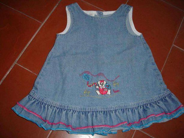 vestido e camisola de menina 2 anos