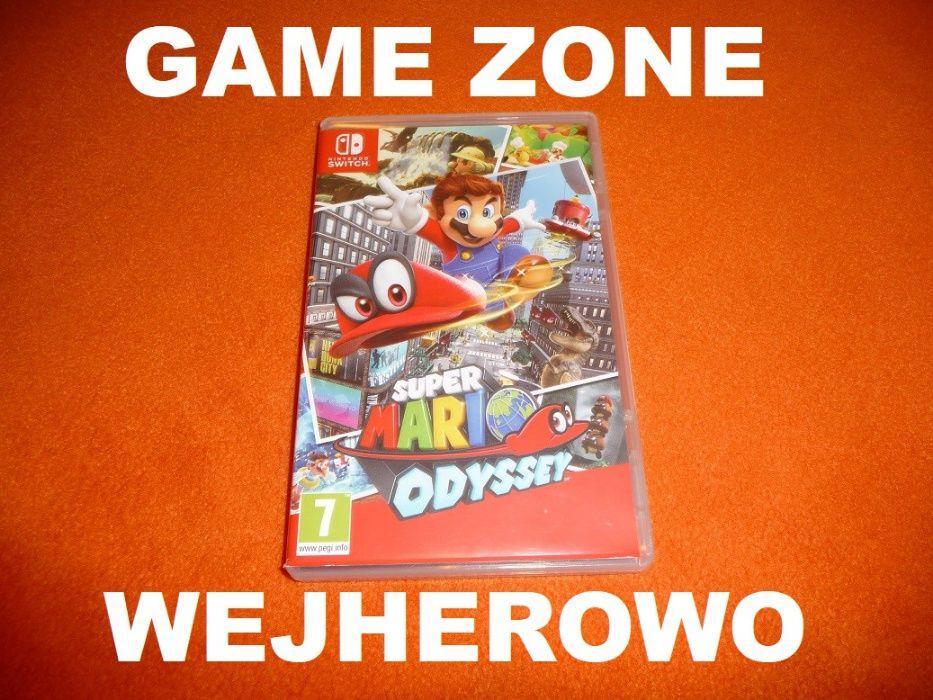 Super Mario Odyssey Nintendo SWITCH = Wejherowo SKLEP Wejherowo - image 1