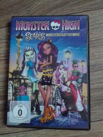 Monster High Scaric monsterstadt der mode DVD