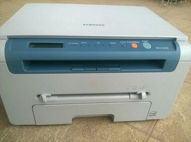 МФУ Samsung SCX 4220/4200 3в1 принтер, сканер, ксерокс