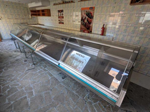 Witryna chłodnicza lada   650 cm   bardzo długa