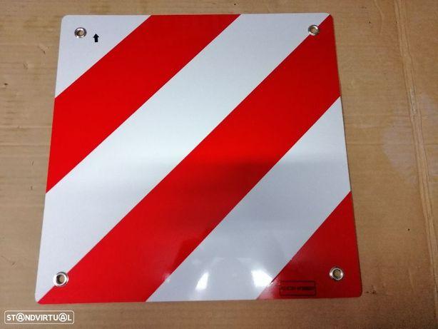 Placas P2 para carga fora da caixa frente e trás NOVA