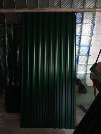 Профнастил (профлист) зелёный с14. 50шт. Доставка