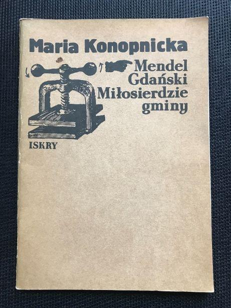 Mendel Gdański | Maria Konopnicka